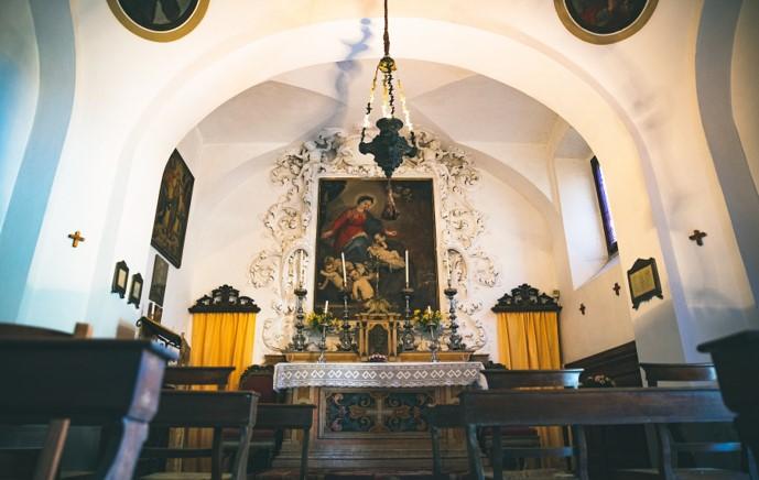la chiesetta interna